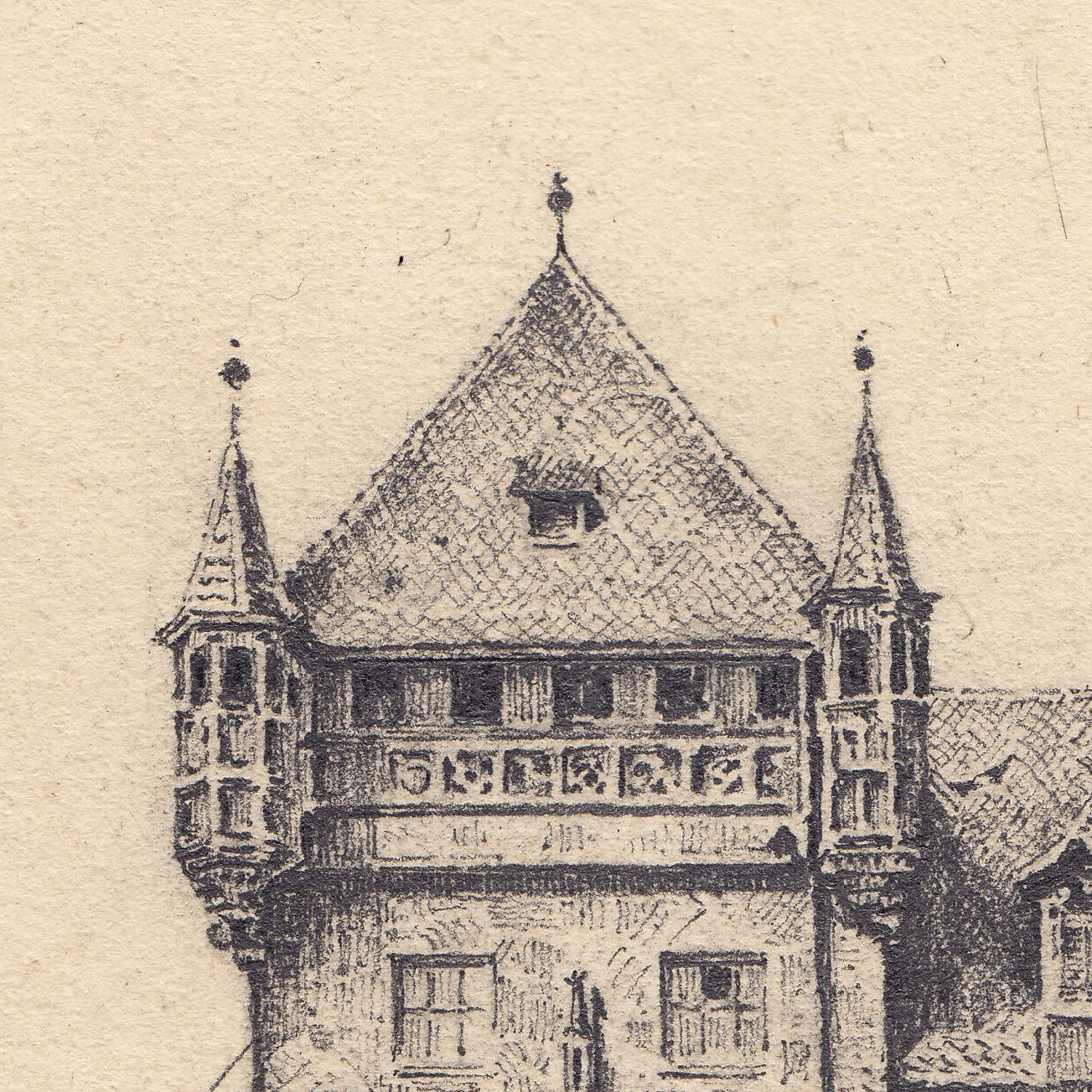 Tugendbrunnen und Nassauer Haus