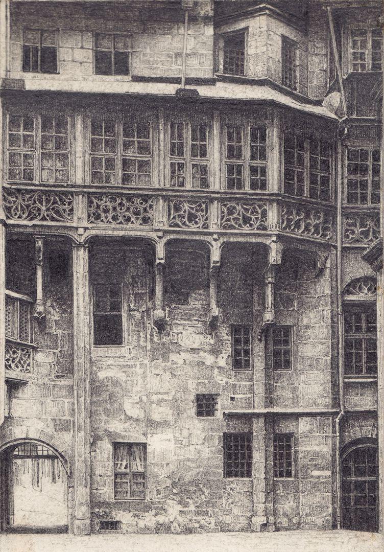 Großer Rathaushof, Hofgalerie von Hans Beheim Gesamtansicht