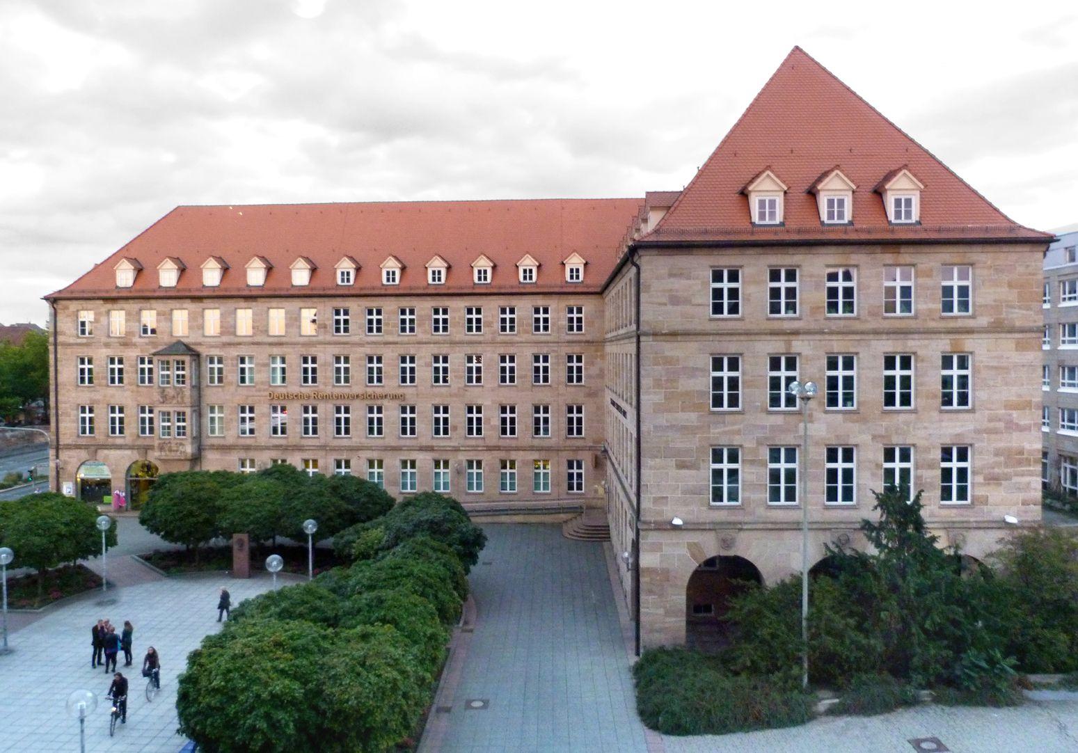 Sigmund Schuckert-Haus Ansicht von West