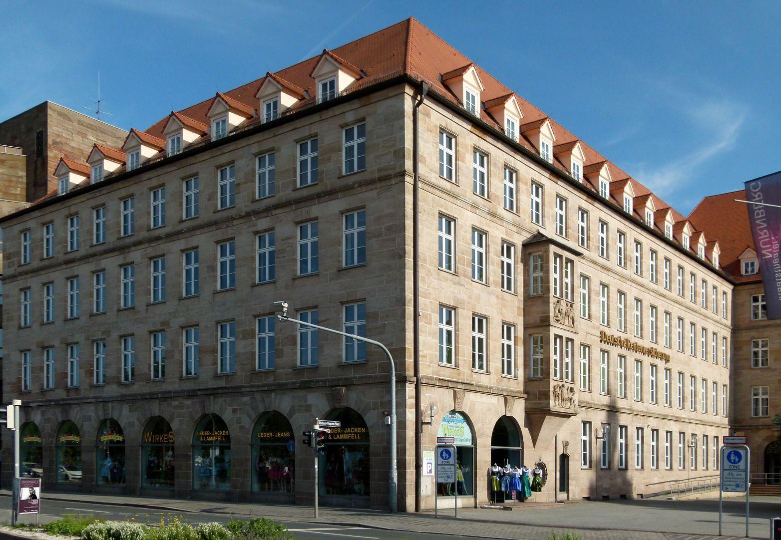 Sigmund Schuckert-Haus Ansicht von Nordwest