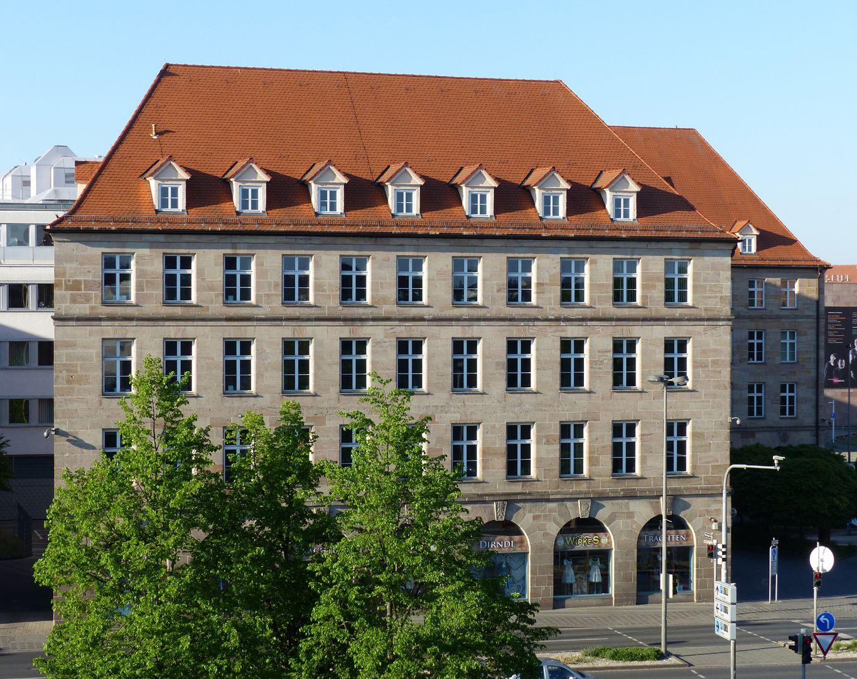 Sigmund Schuckert-Haus Nordfassade