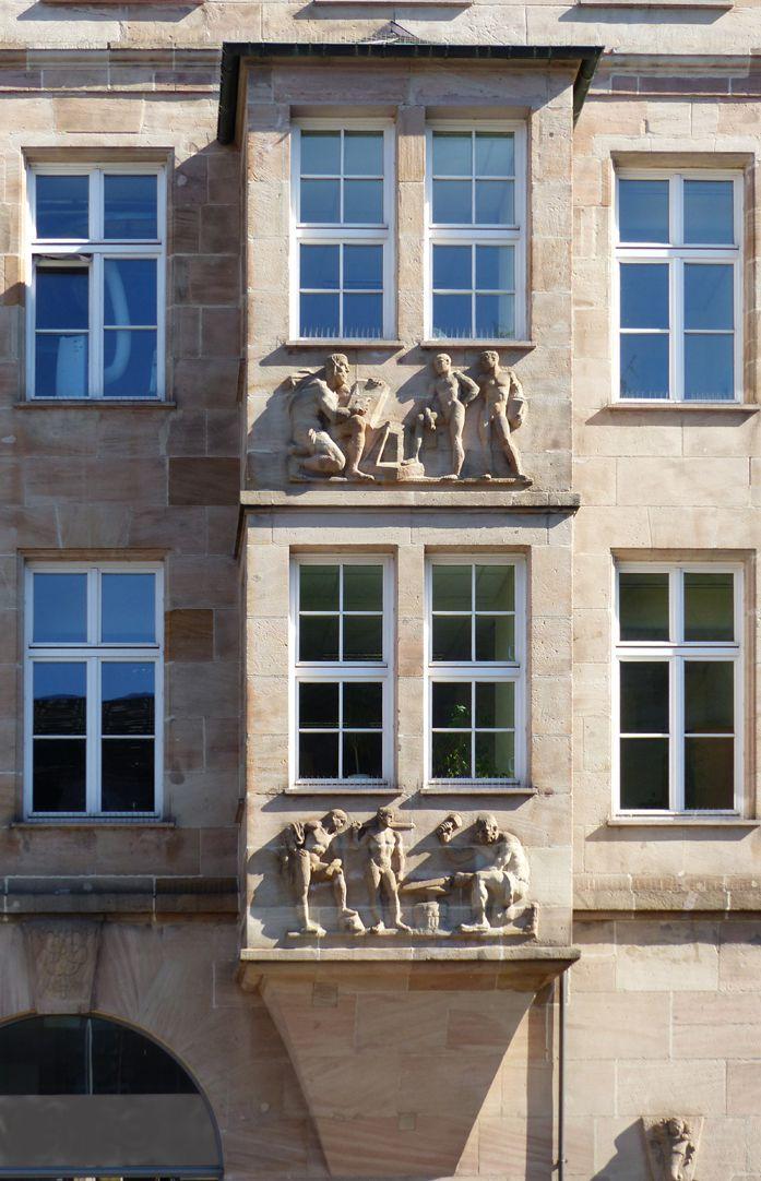 Sigmund Schuckert-Haus Zweigeschossiges Chörlein