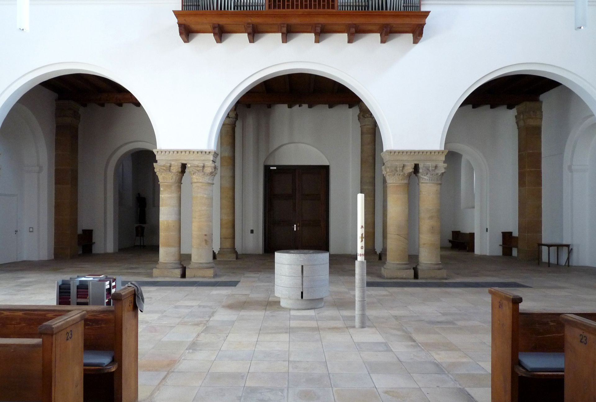 St. Ludwig Narthex