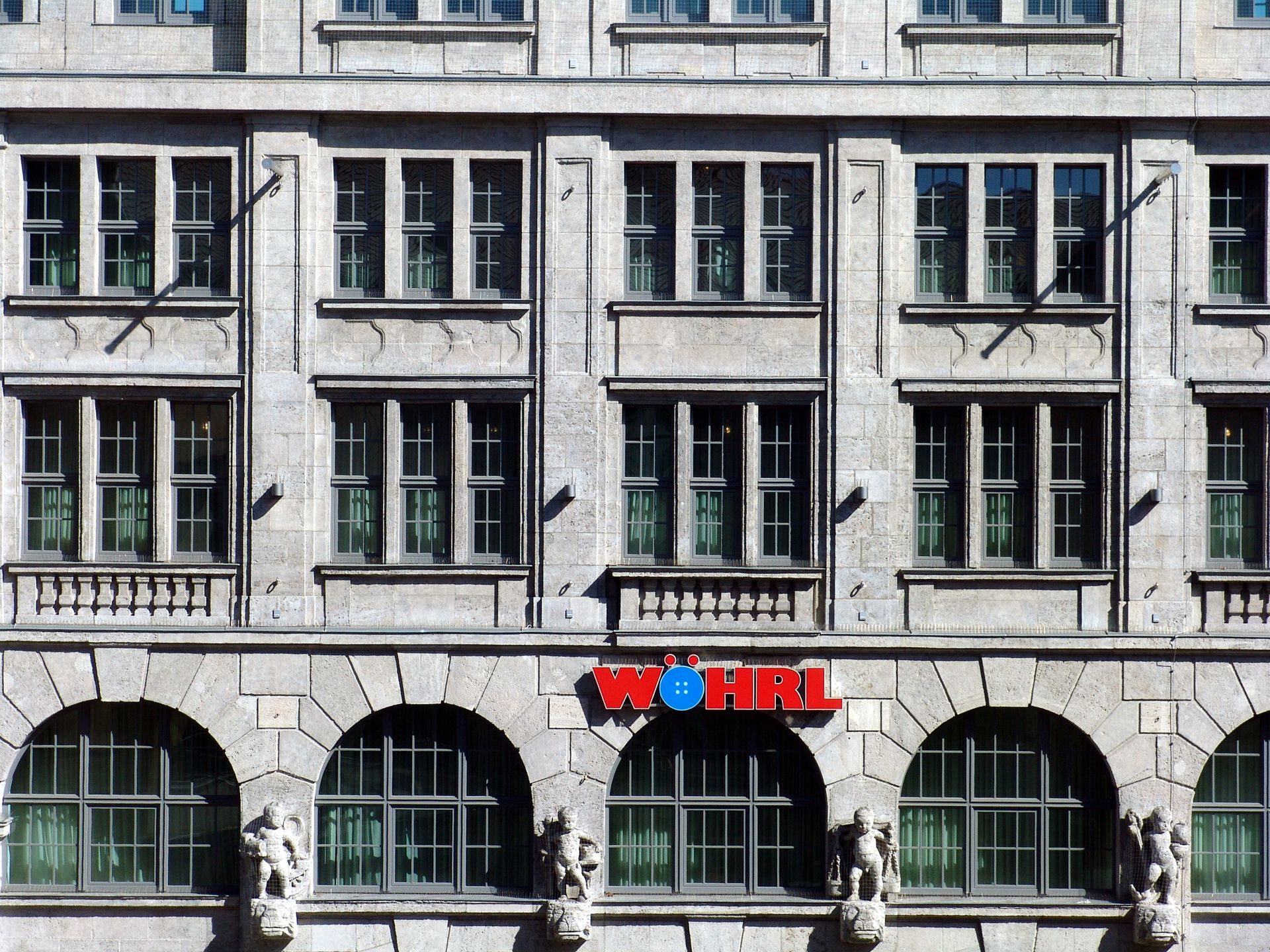 Ehemaliges Kaufhaus Tietz Fassadendetail