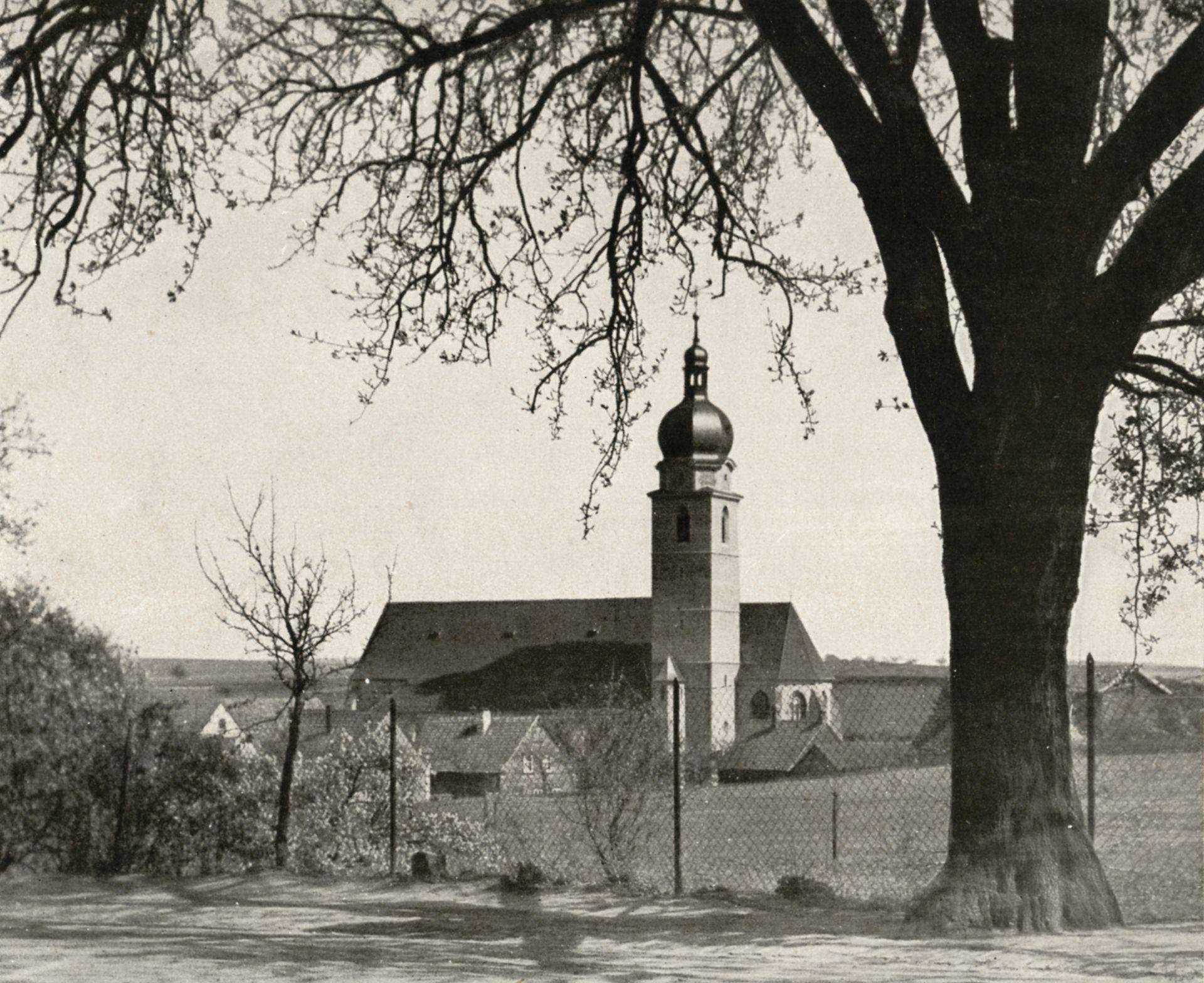 """St. Mauritius St. Mauritius / Foto aus: """"Otto Schulz"""", Friedrich Ernst Hübsch Verlag, 1929"""