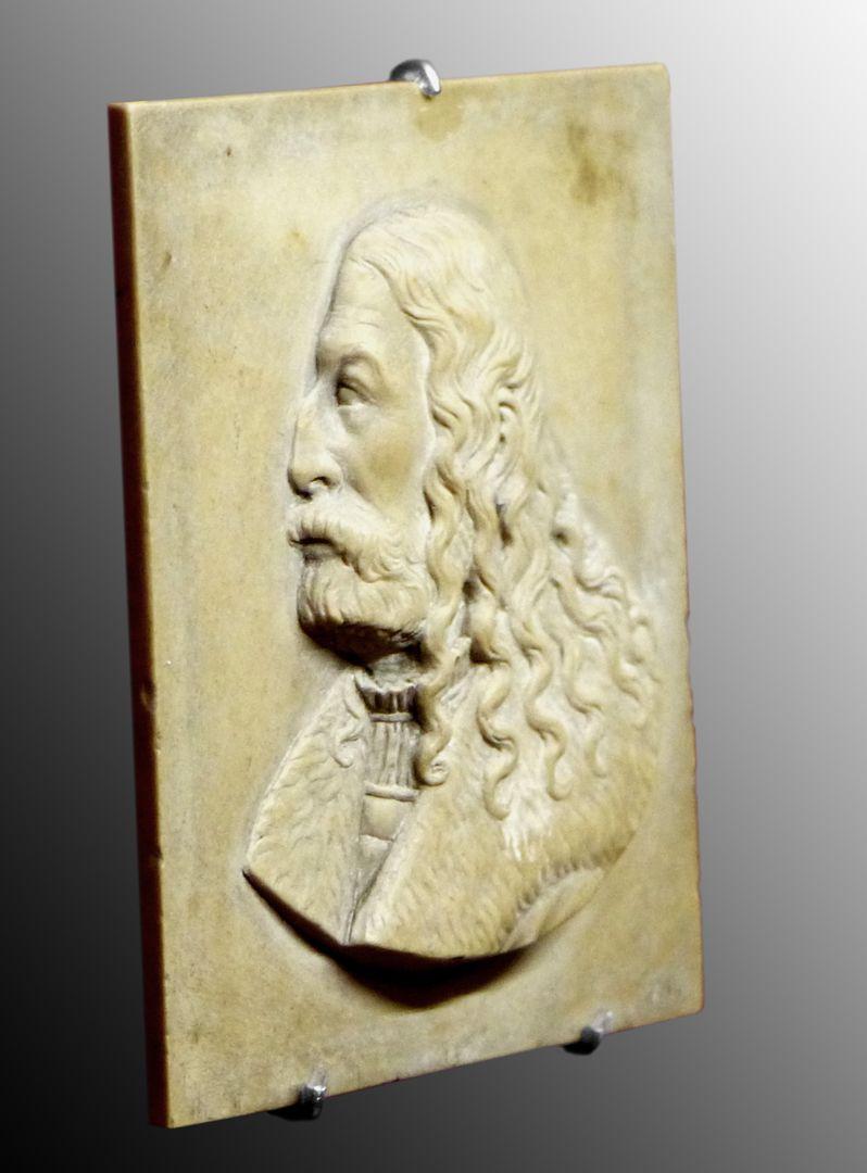 Bildnis Albrecht Dürers Schrägansicht von links