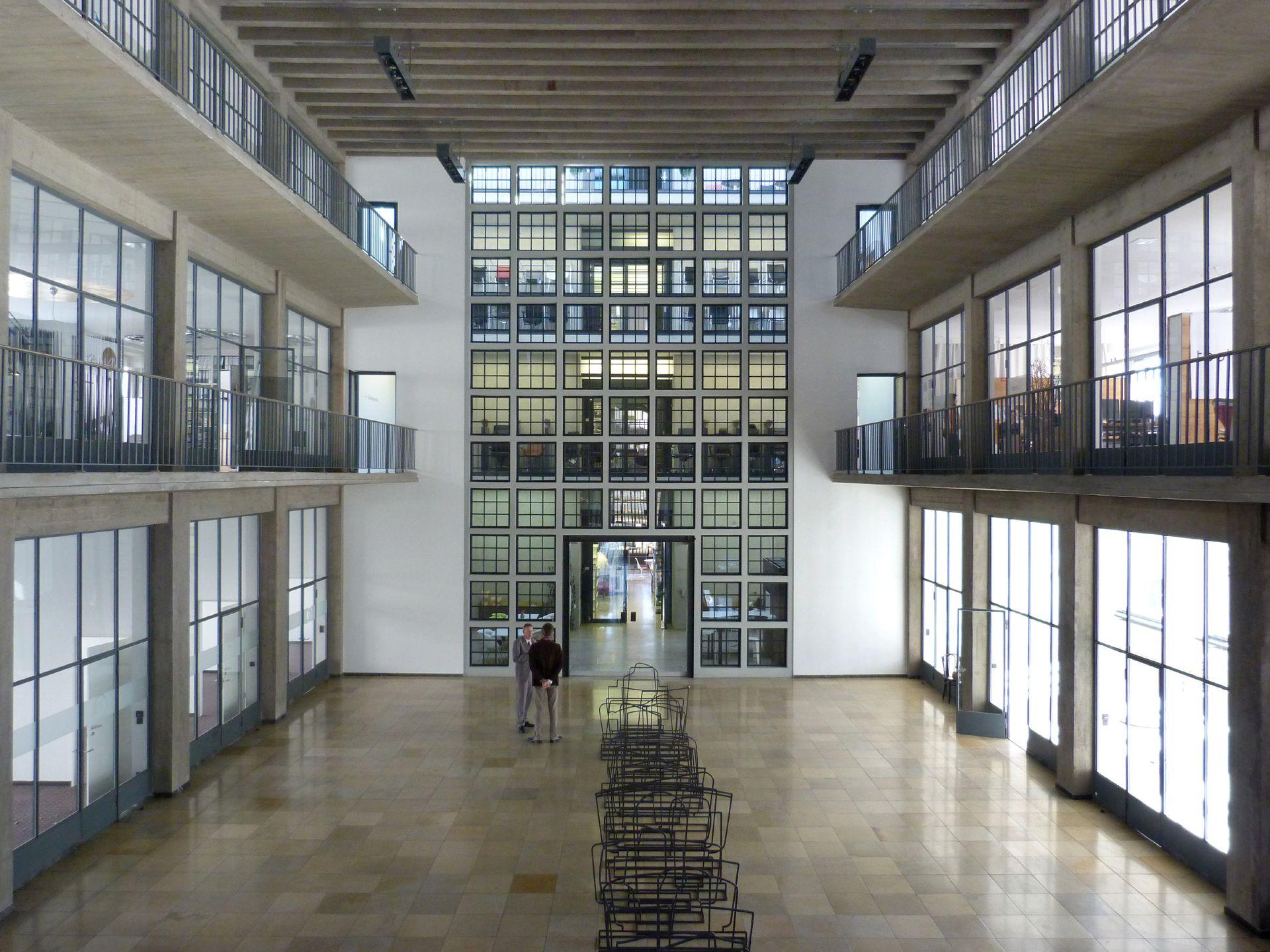 Milchhof Innenraum von der ersten Galerie