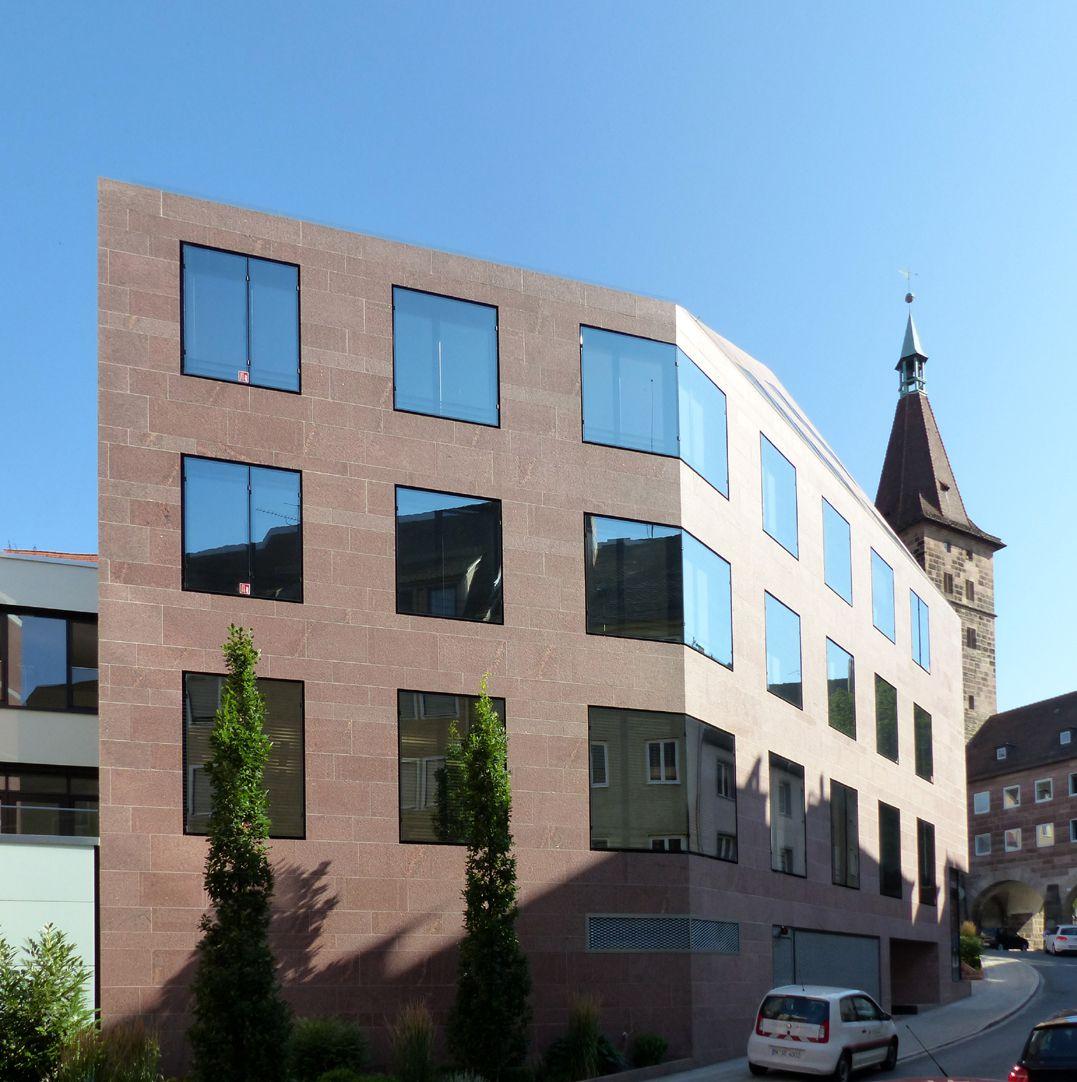 Sebalder Kontore Knickfassade an der Judengasse
