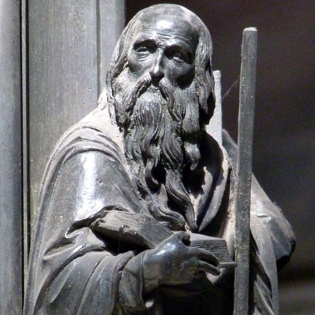 Sebaldusgrab Andreas, Oberkörper