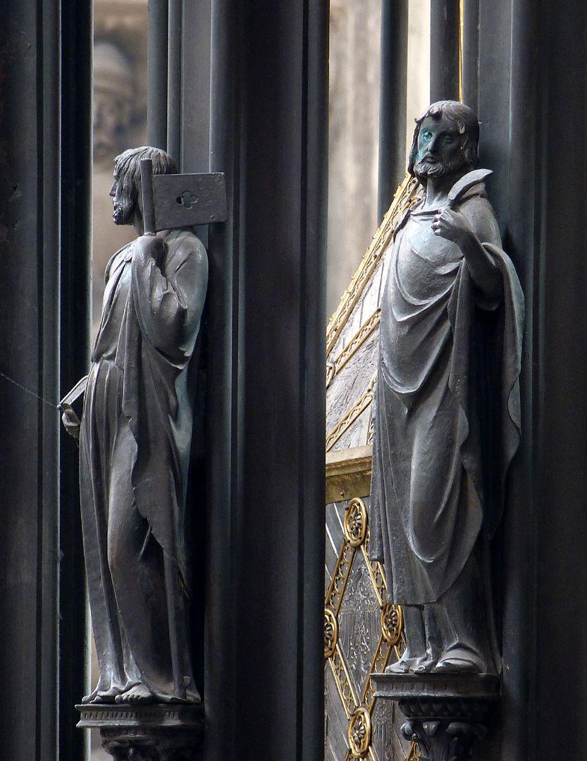 Sebaldusgrab (Nordseite) Jakobus d.J. und Bartholomäus