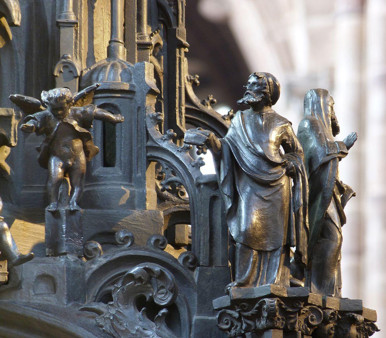 Sebaldusgrab (Ostseite) Propheten an der Nordostecke