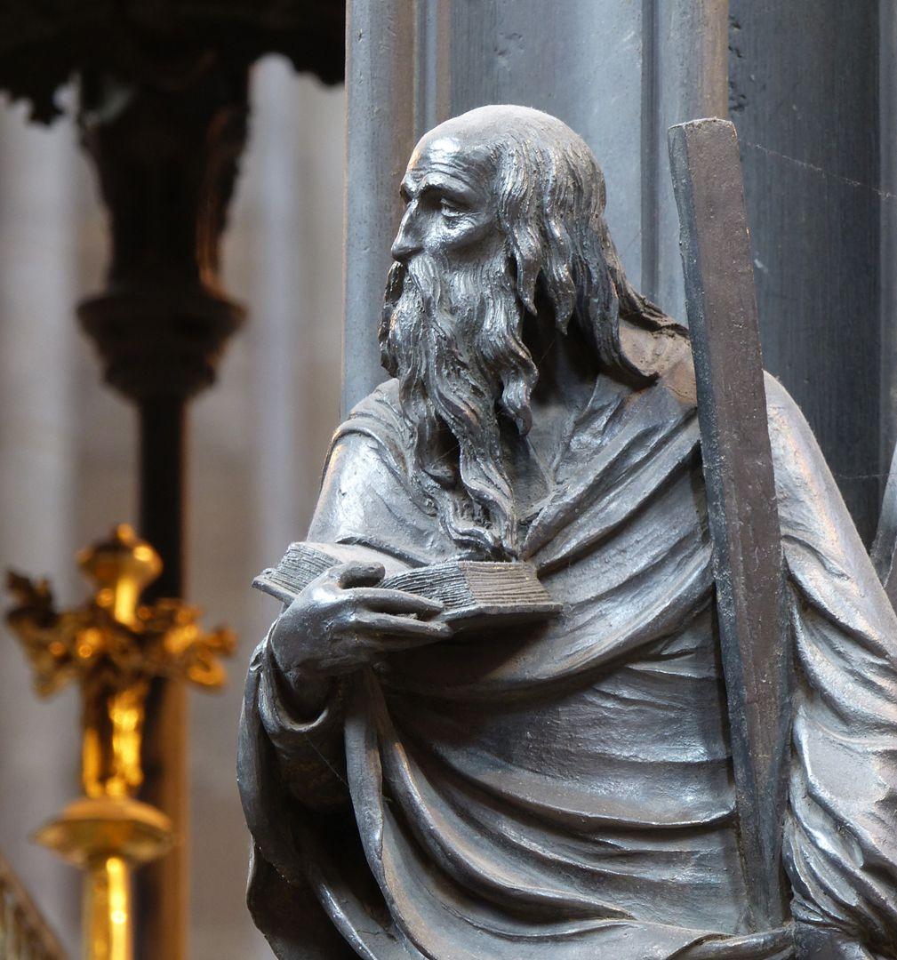 Sebaldusgrab (Ostseite) Andreas, Detail