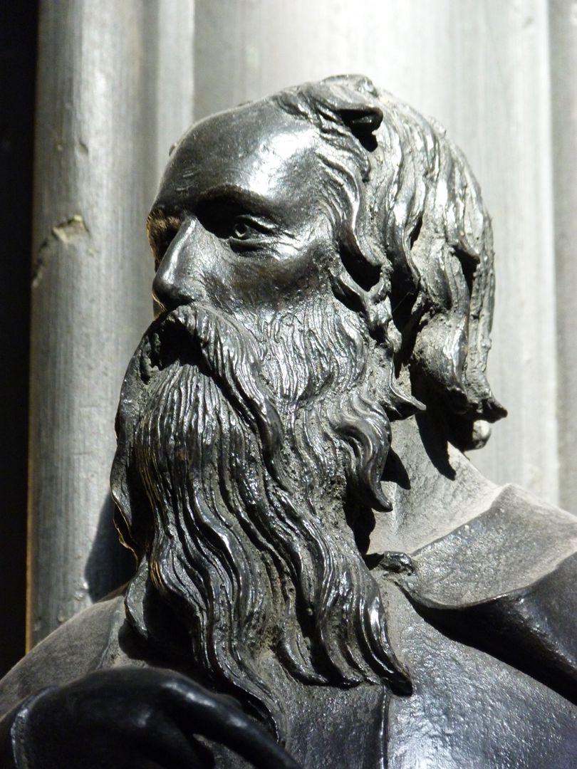 Sebaldusgrab (Südseite) Philippus, Kopf