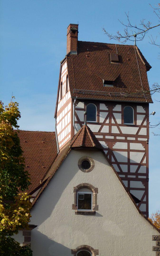 Feuerwache West Schlauchturm