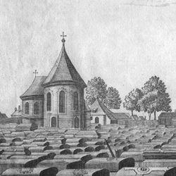 """""""Der große und vordere Kirchhof oder Gottesacker zu St. Johannis, 1/4 Stunde von Nürnberg"""""""
