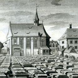 """""""Der so genandte Neue oder hintere Kirchhof beÿ St. Johannis..."""""""