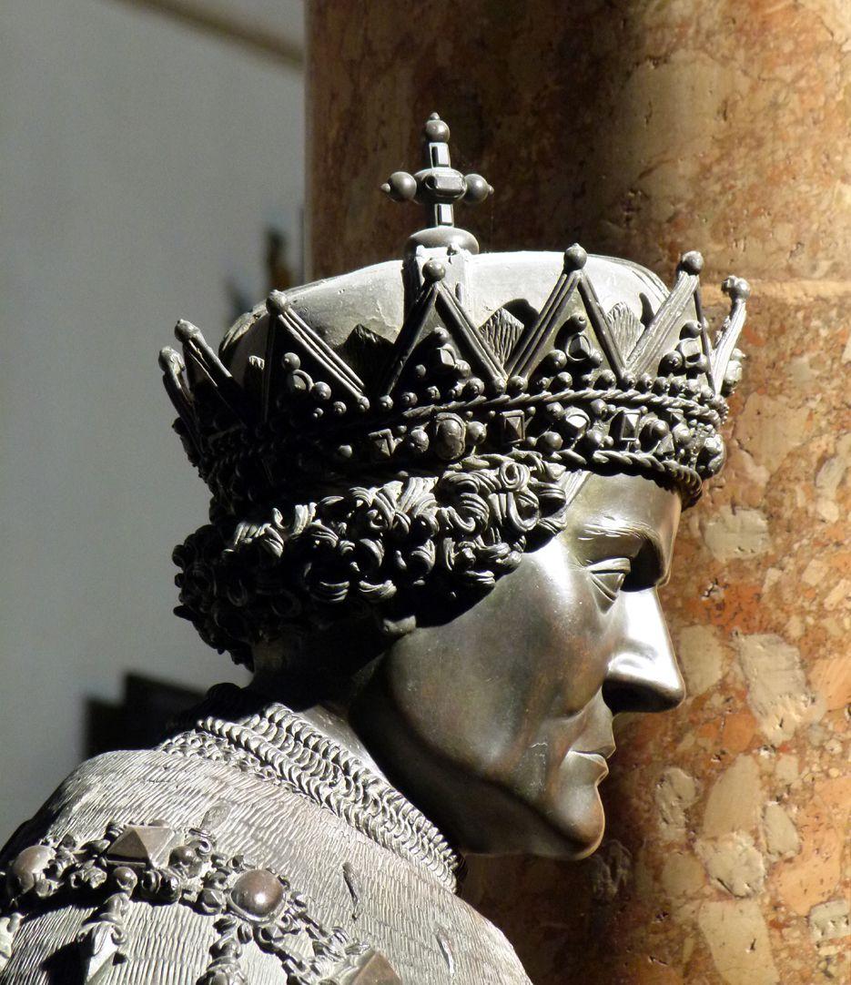 Sigmund der Münzreiche (Innsbruck) Kopf, Profil