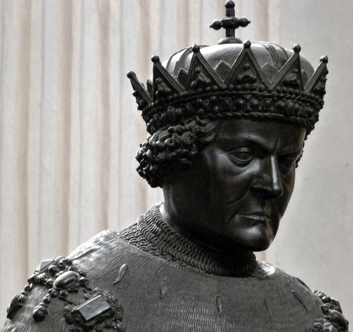 Sigmund der Münzreiche (Innsbruck) Kopf
