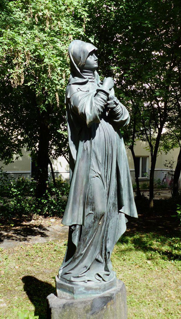 sog. Nürnberger Madonna Schrägansicht