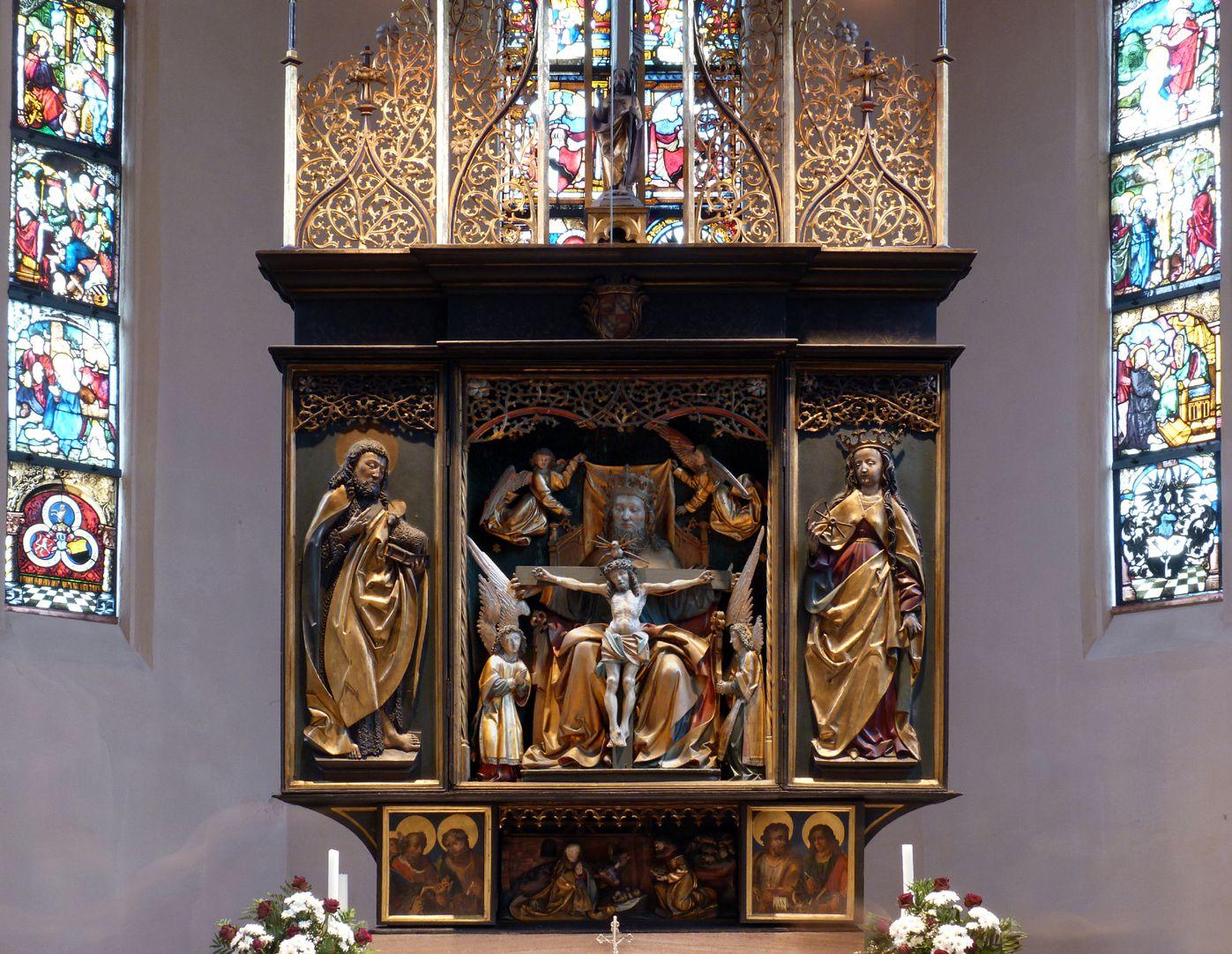 St. Bartholomäus, Hochaltar Gesamtansicht