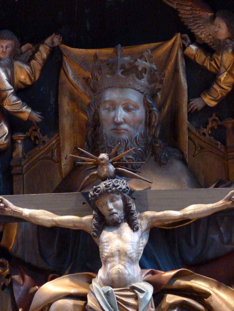 St. Bartholomäus, Hochaltar Mittelschrein, Detail