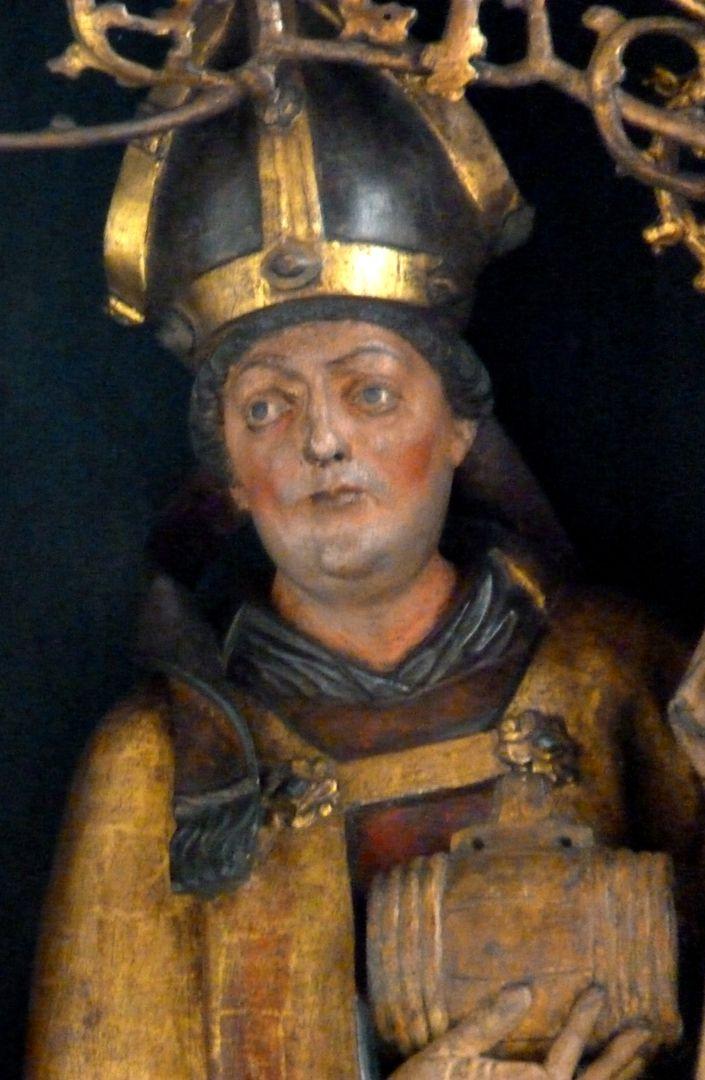 St.Jobst Ottmaraltar, Ottmar, Büste, Umkreis des Veit Stoss, nach 1500
