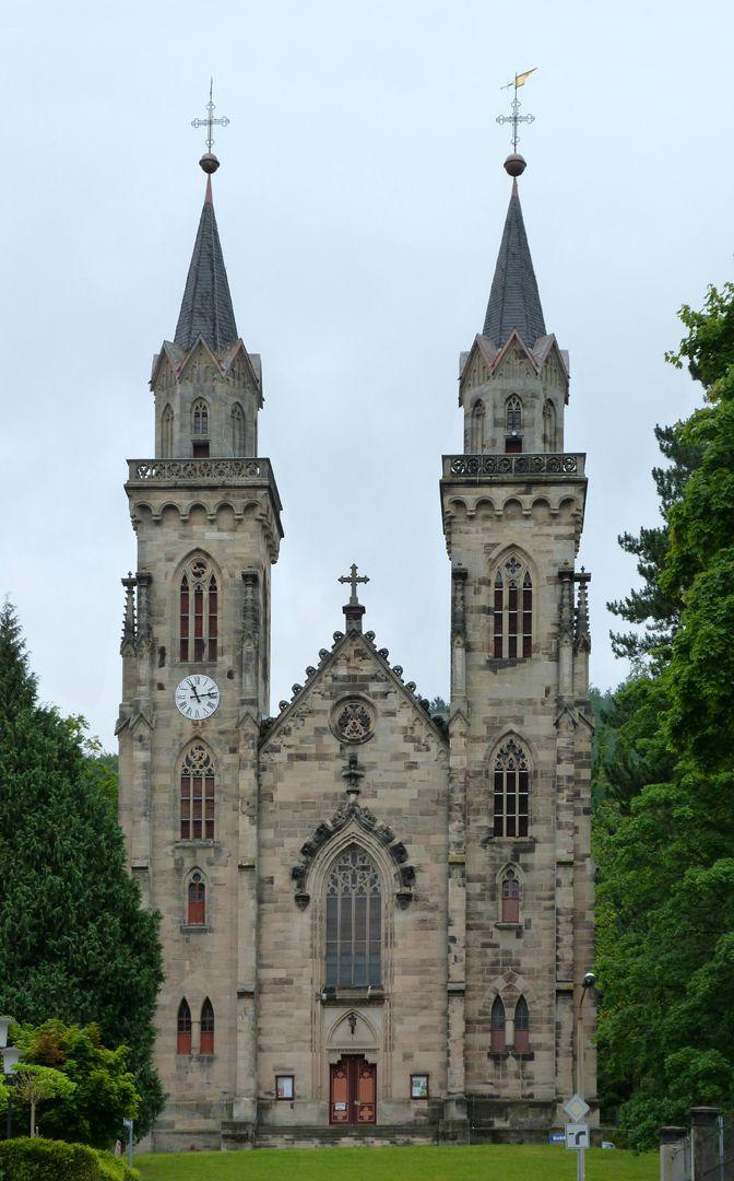 Stadtkirche St. Peter (Sonneberg) Fassade