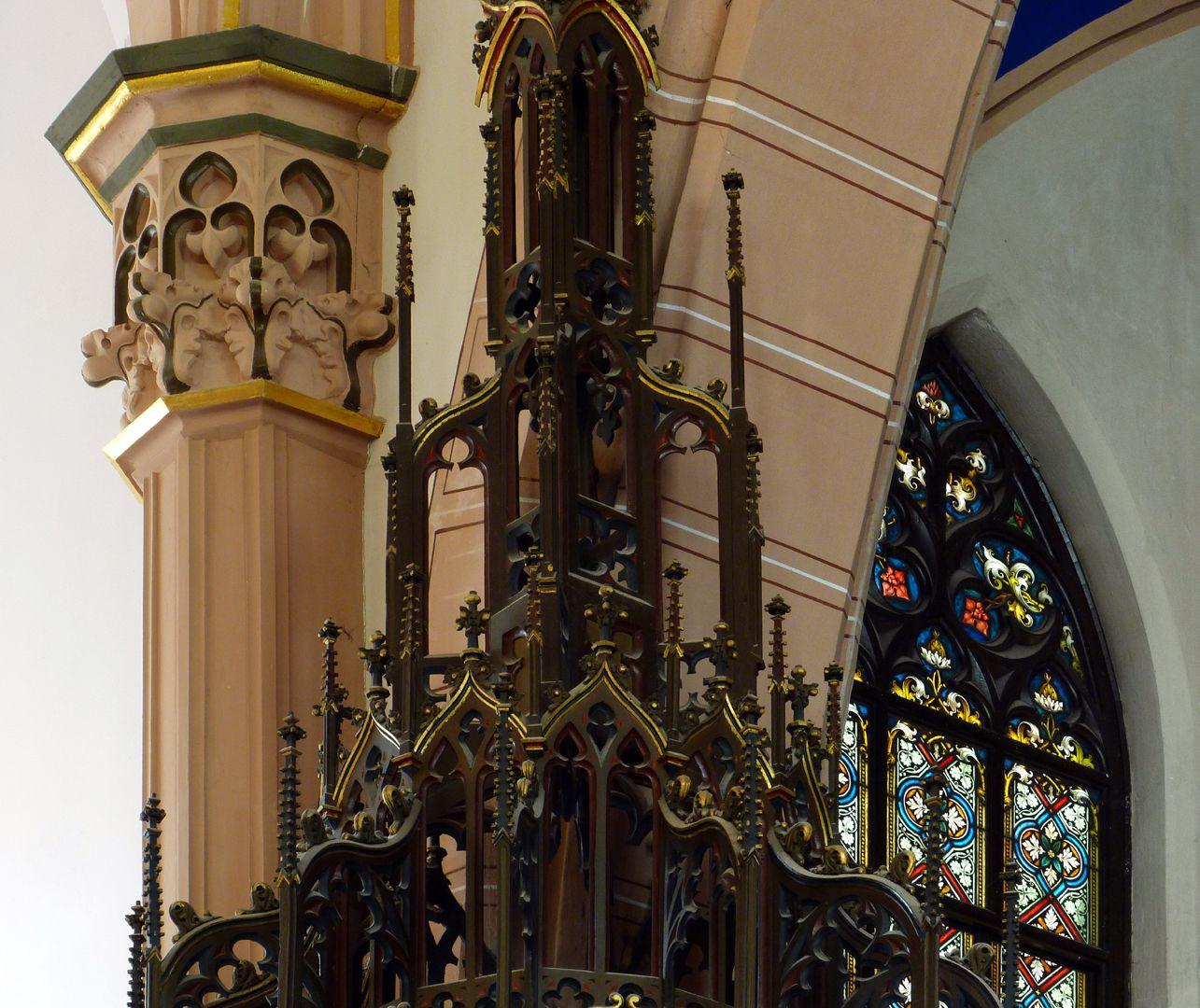 Stadtkirche St. Peter (Sonneberg) Oberteil des Kanzelschalldeckels