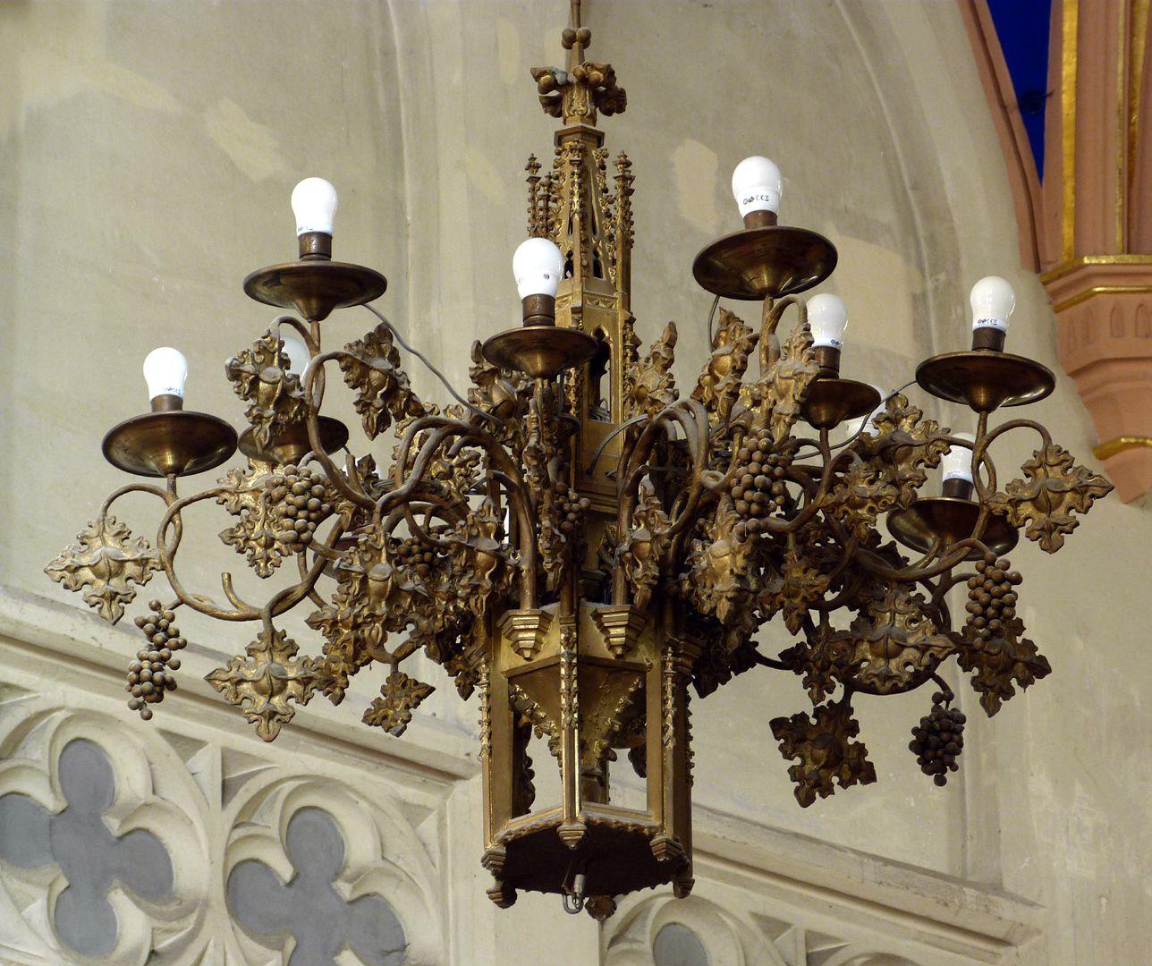 Stadtkirche St. Peter (Sonneberg) Kronleuchter im Chor
