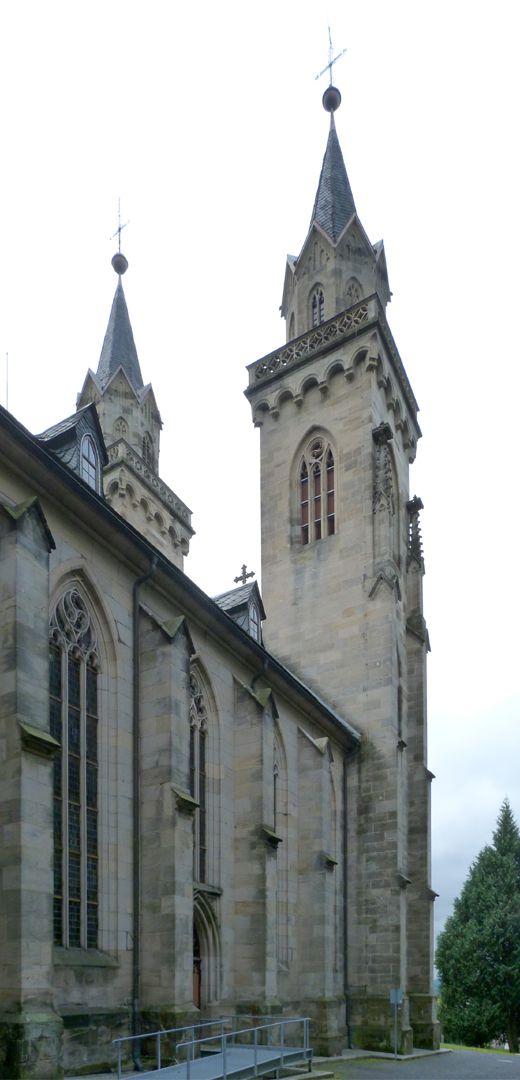 Stadtkirche St. Peter (Sonneberg) linke Flanke