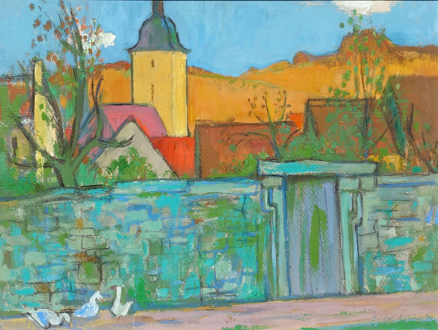 Stadtmauer, Sommerhausen am Main Gesamt