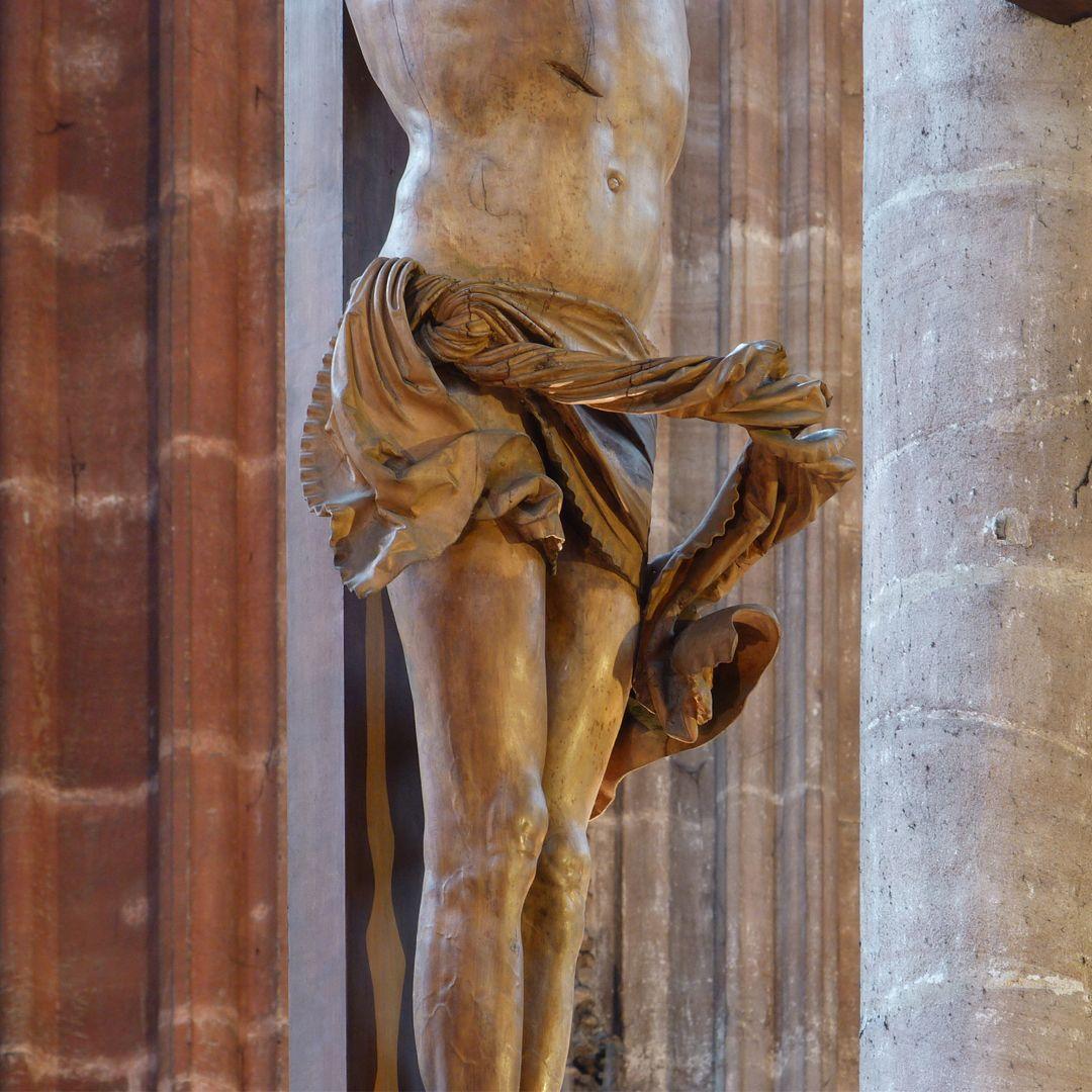 Kruzifixus Lendentuch von Nordwest