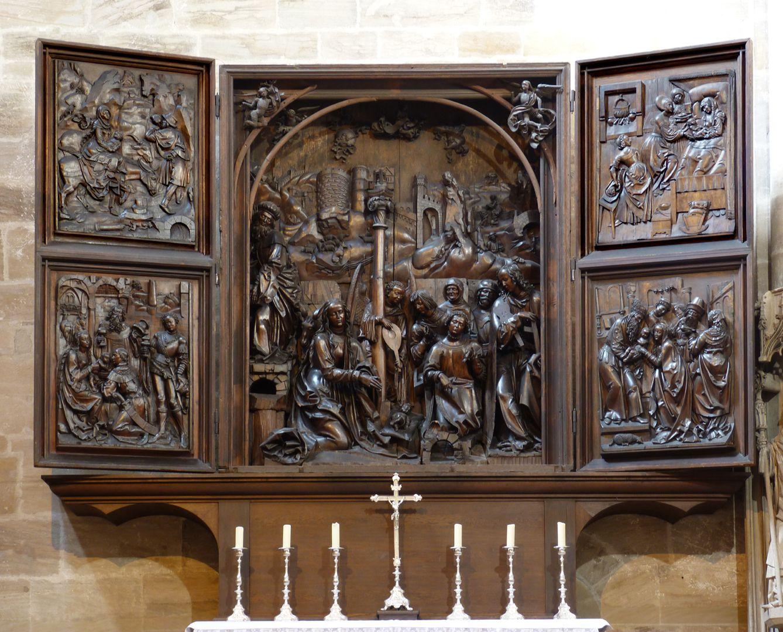 Marien-Altar Gesamtansicht