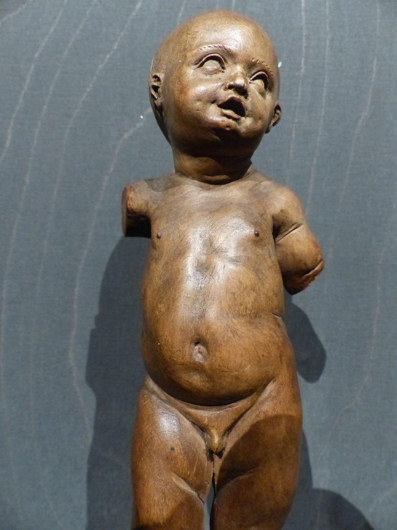 Christuskind Detail der Kleinfigur