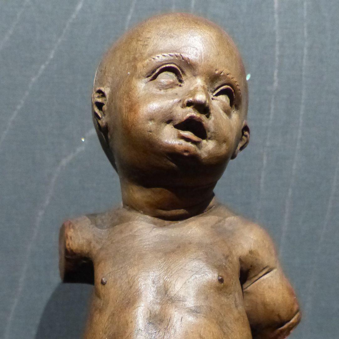 Christuskind Torso der Kleinfigur