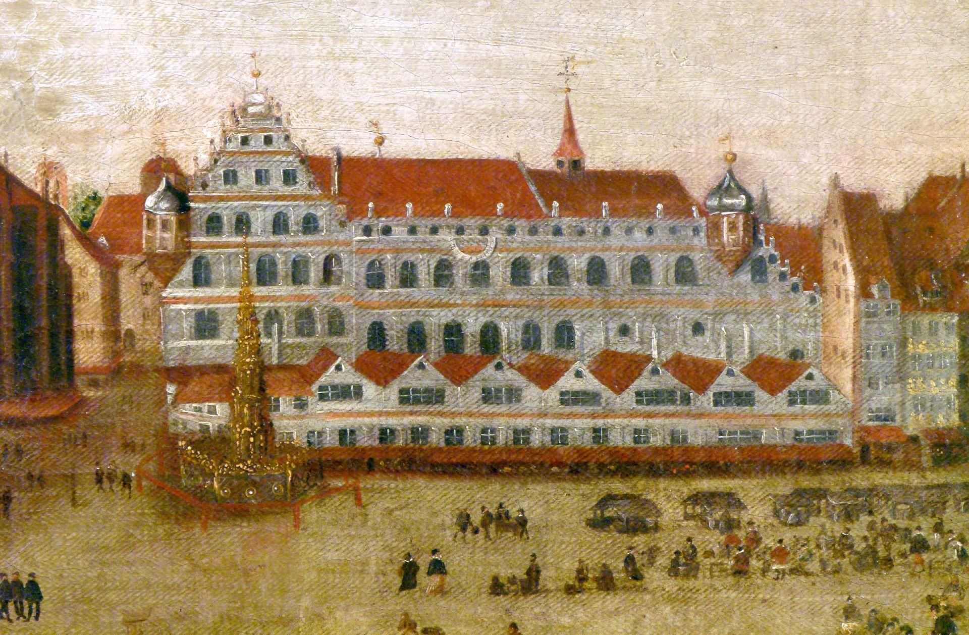 Der Nürnberger Hauptmarkt Südseite