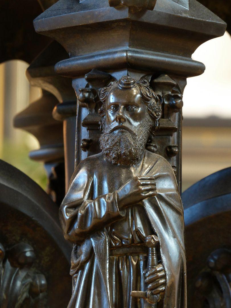 Taufbecken Paulus, Detail
