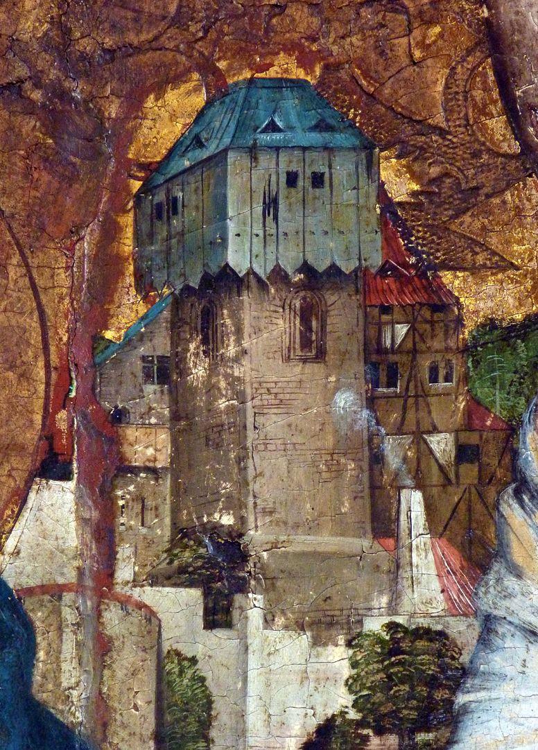 Epitaph der Obernitz Stadtturm