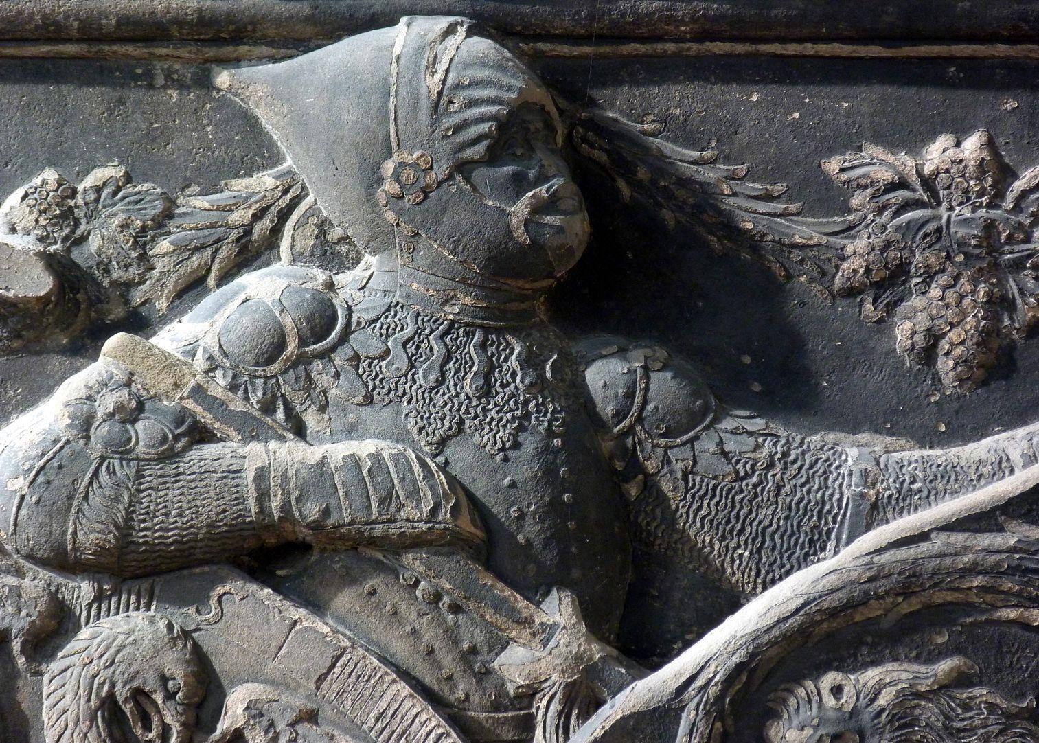 Wappenrelief Schlaudersbach/Imhoff Ritter