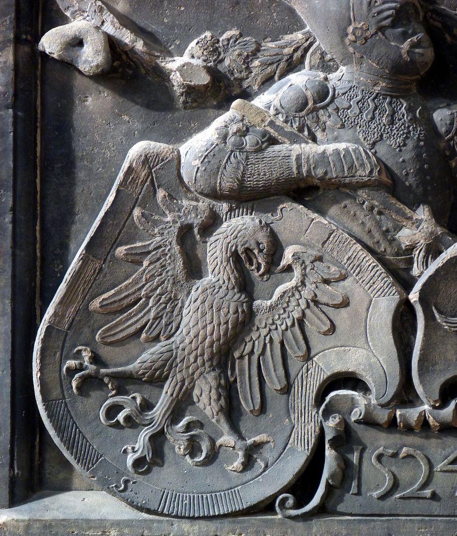 Wappenrelief Schlaudersbach/Imhoff Schlaudersbachscher Adler