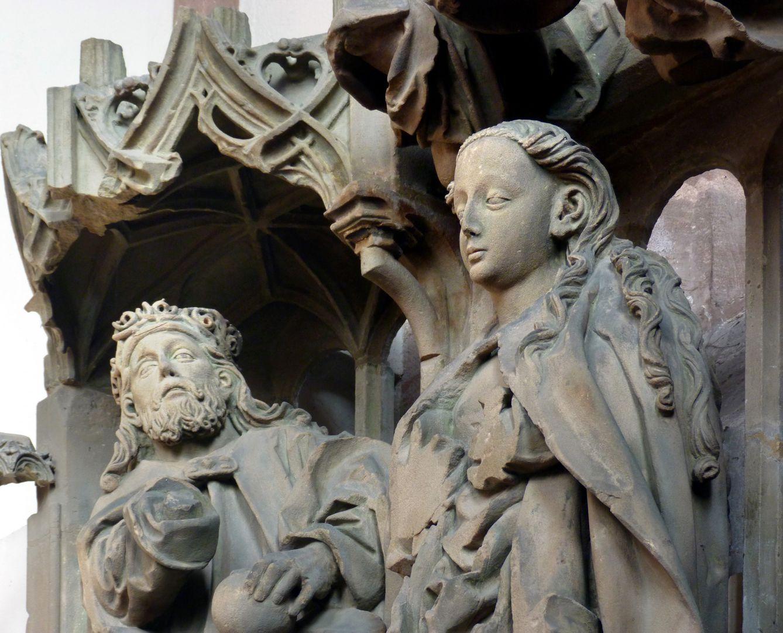 Landauersches Epitaph Christusgott und Maria