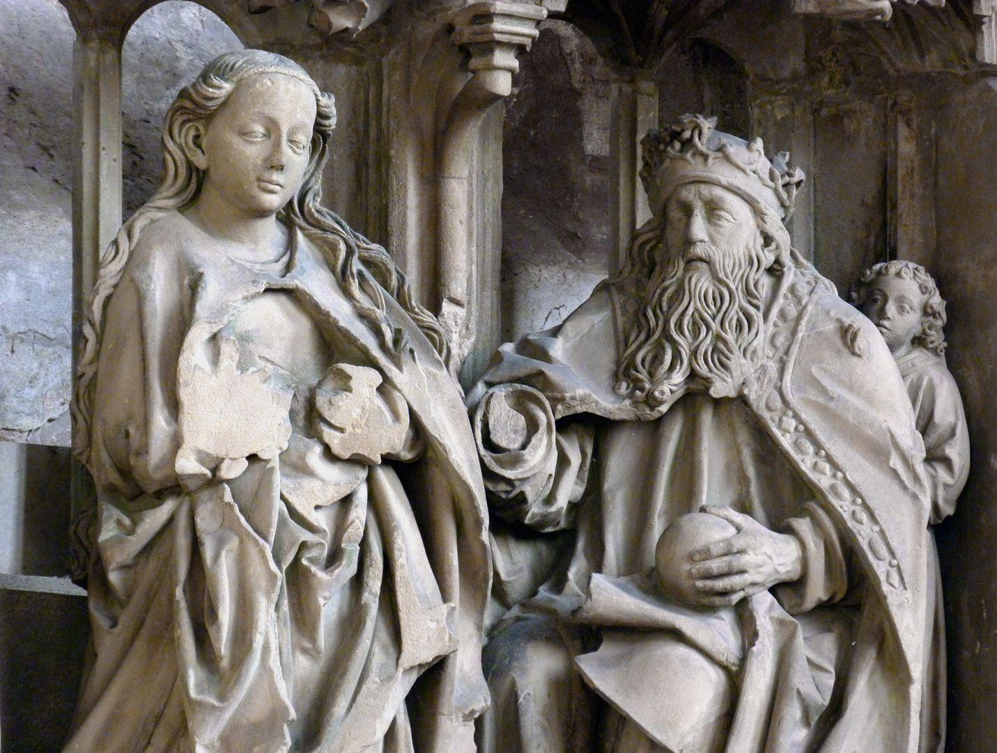 Landauersches Epitaph Maria und Gottvater