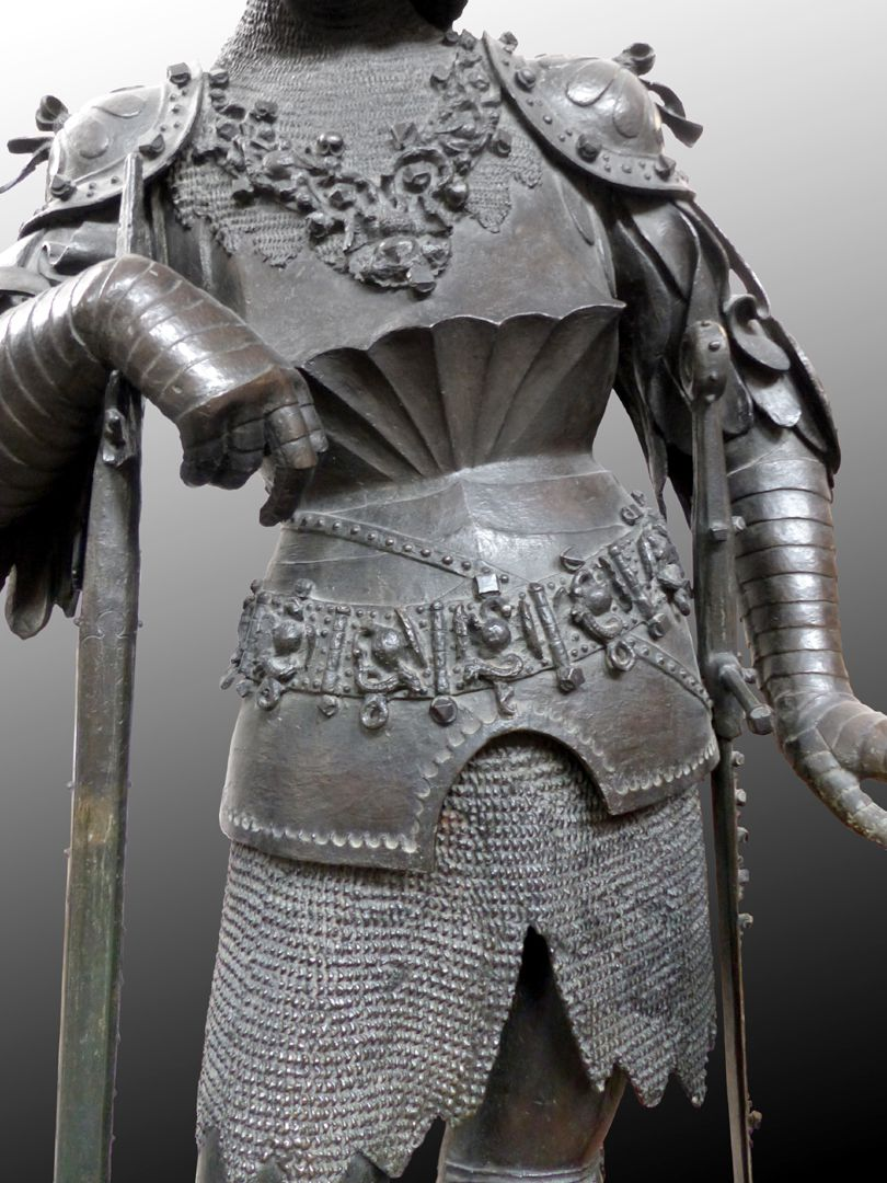 König Theoderich (Innsbruck) mittlerer Figurbereich