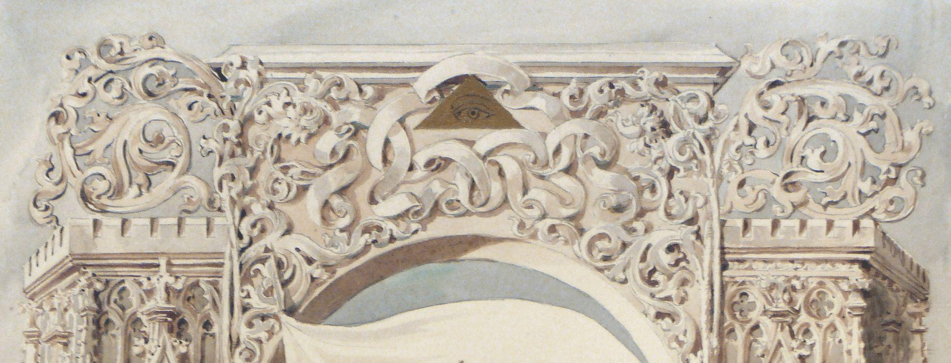 Landsberg Schloss, Titelblatt Detail
