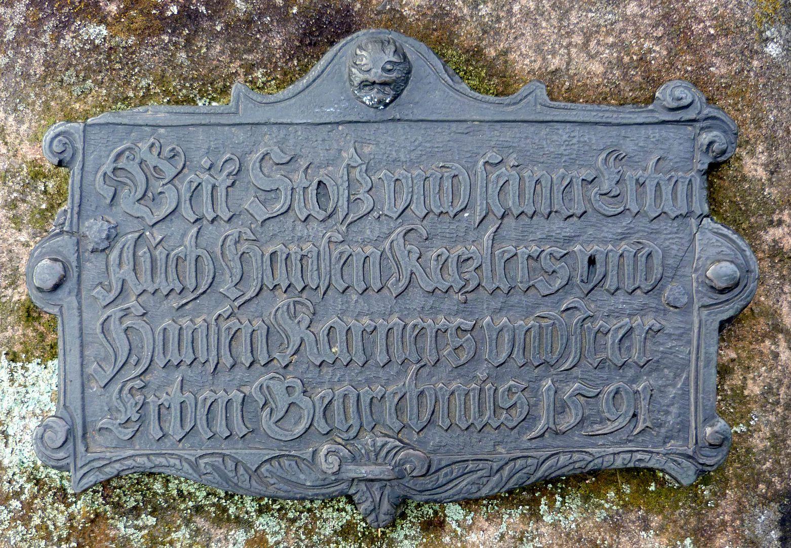 Epitaph von Veit Stoss und Erben Epitaph
