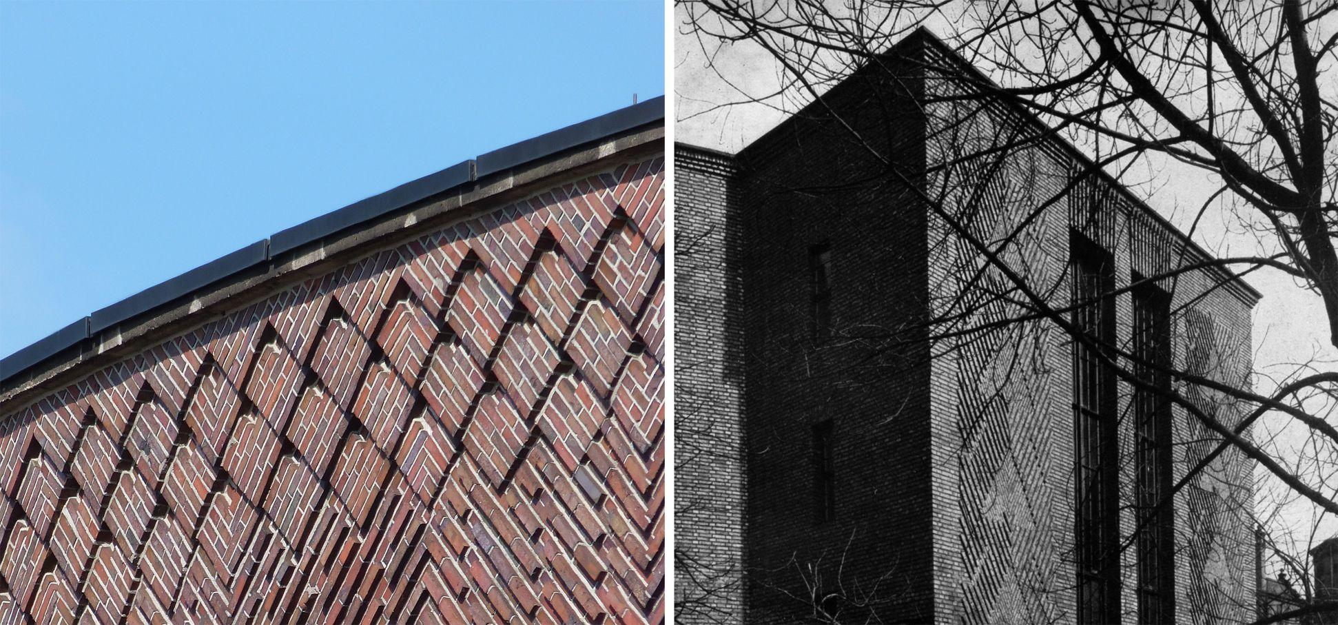Planetarium VERGLEICHSBEISPIEL: Düsseldorf, Tonhalle, Architekt: Wilhelm Kreis, Detailansicht