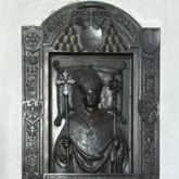 Gedächtnisplatte des Albrecht v. Brandenburg