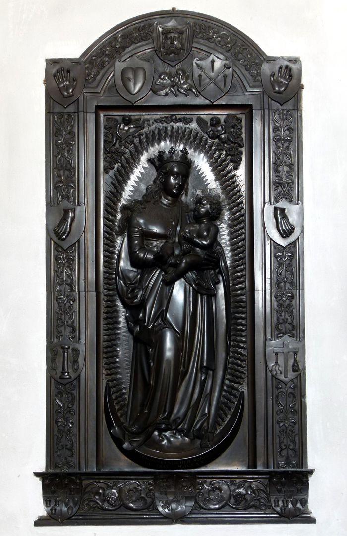 Gedächtnisanlage des Albrecht v. Brandenburg: Maria auf der Mondsichel Maria auf der Mondsichel