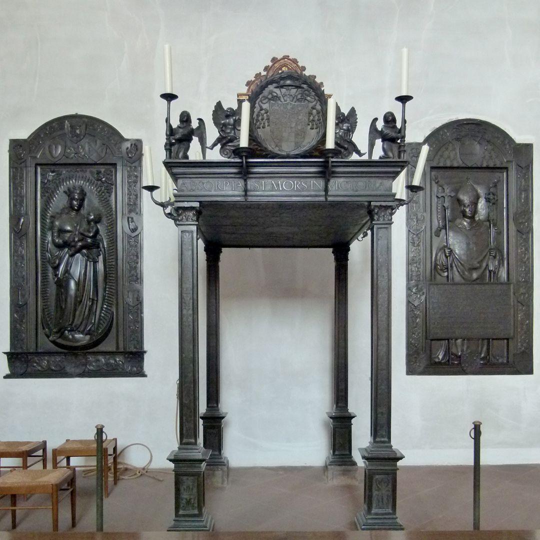 Gedächtnisanlage des Albrecht v. Brandenburg: Baldachin Baldachin