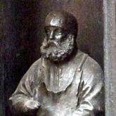 Selbstportrait und Signatur, Peter Vischer d.Ä.
